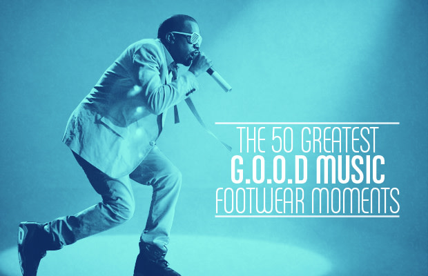 The 50 Greatest G O O D  Music Footwear Moments | Complex