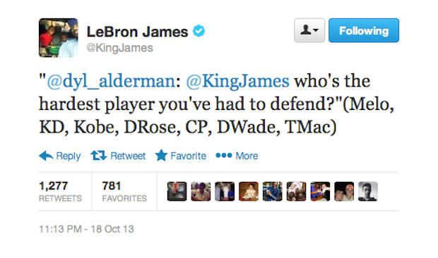 What We Learned From LeBron James' Twitter Q&A | Complex