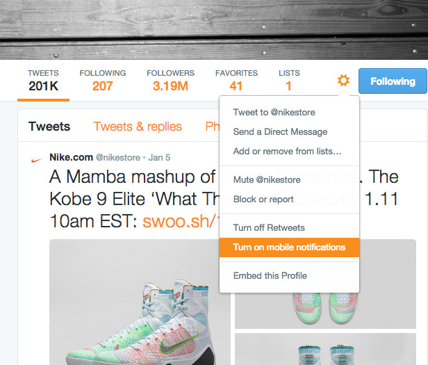 6dfa3530ab2 As most 'heads know, online sneaker retailers often announce restocks via  their Twitter feeds, and it's crucial that you're always up-to-date on this  info.
