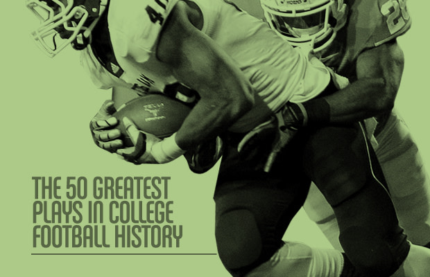 The 50 Greatest Plays in College Football History (Video