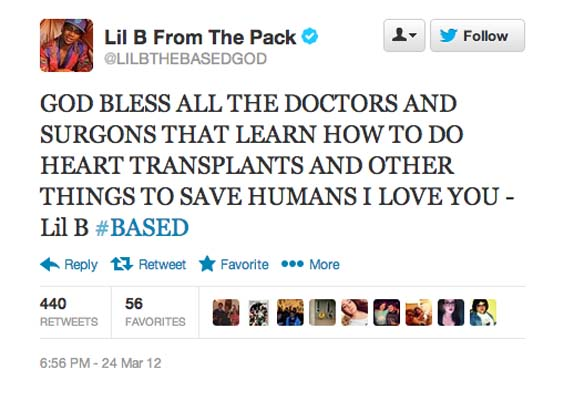 The 20 Best Lil B Tweets About Love | Complex
