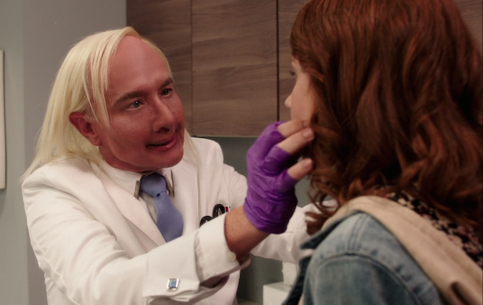 Celebrity Plastic Surgeon Parodied on 'Unbreakable Kimmy