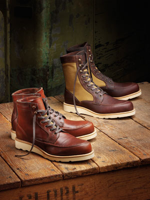 b358c0a5f29 Wolverine 1000 Mile and Filson Team Up On Two Boots For Fall   Complex