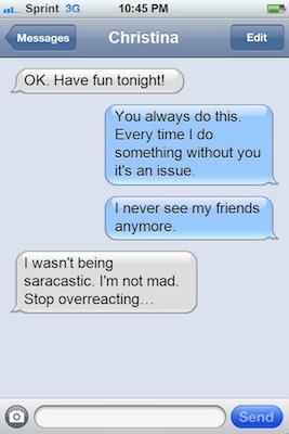 17 Texts You Should Never Send a Woman   Complex