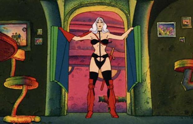 Heavy Metal tegneserie sex