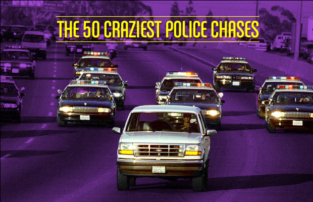 The 50 Craziest Police Chases | Complex