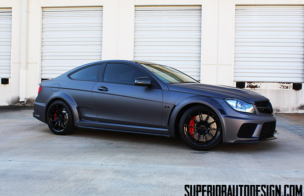 The 2013 Mercedes Benz C63 Amg Black Series By Superior