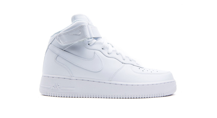 White old Nike Air Force 1 trash part 1