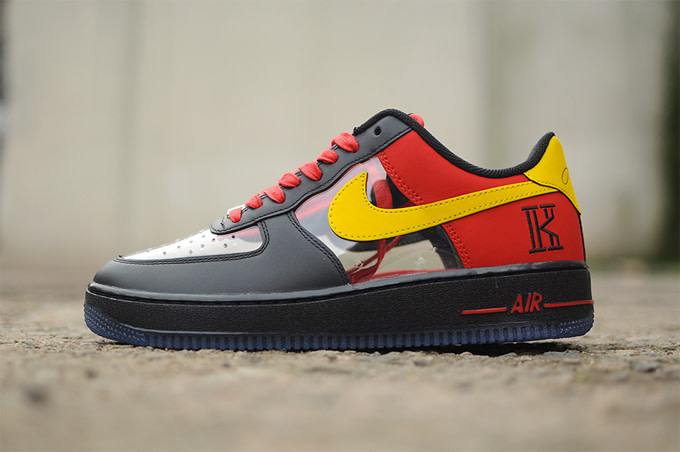 pretty nice 250ff 83a70 Clear Nike Air Force 1 Low for Kyrie Irving | Complex