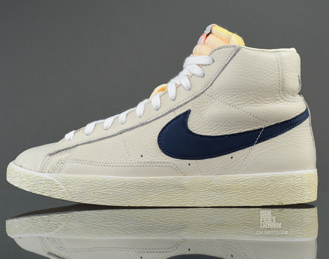 on feet shots of the sale of shoes huge inventory Nike Blazer Mid PRM