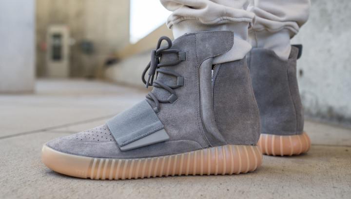 ce011a74 Yeezy 750 Grey Gum On-Feet | Complex