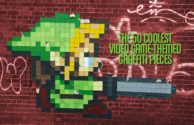 The 50 Coolest Video Game-Themed Graffiti Pieces   Complex