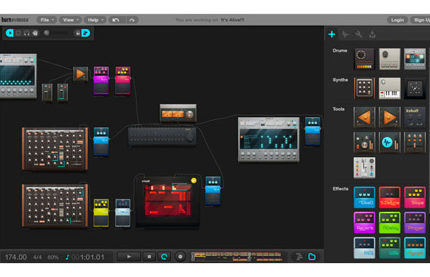 Burn Studios Audiotool Lets You Make Beats In Your Browser