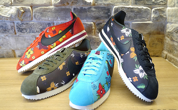 "reputable site 9acef 69e44 Nike Cortez Classic Nylon QS ""Floral"" Pack"