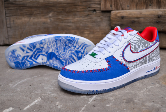 Nike Air Force 1 Low Puerto Rico 2013 | Sole Collector