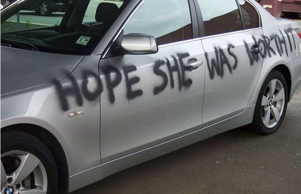 Remove Spray Paint From Car >> The 9 Worst Types Of Car Vandalism Complex