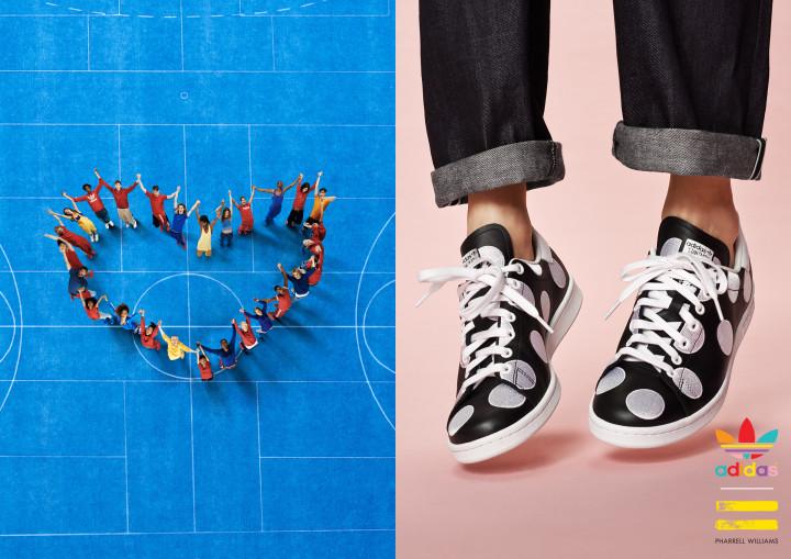 Pharrell Williams X Stan Smith Small Polka Dot Adidas