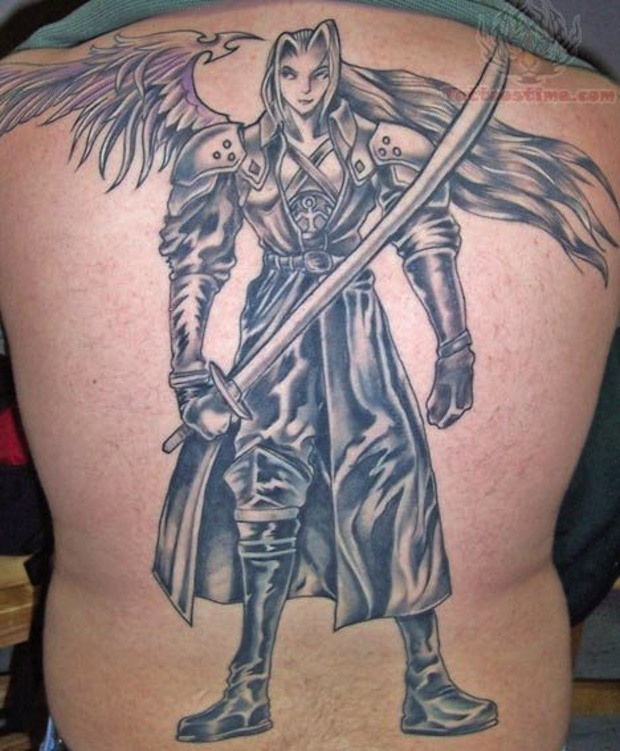 a6c53b166 Tattoo Inspiration: Final Fantasy/publicly displaying your love handles.