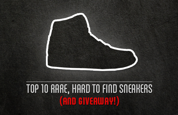 Giveaway: 10 Rare, Hard To Find Sneakers | Complex