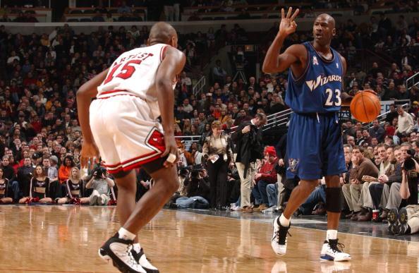 competitive price 56f21 07ff4 15 NBA Players Wearing Air Jordans Against Michael Jordan ...