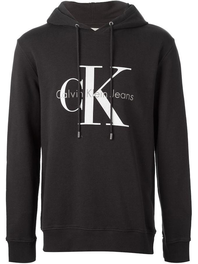 0f24cf59f0 Calvin Klein Jeans Logo Hoodie. Image via farfetch.com