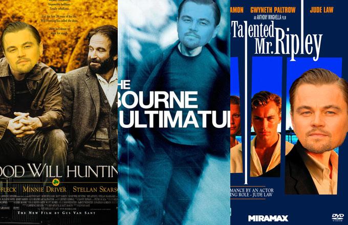 Every Matt Damon Movie Would Be Better As a Leonardo DiCaprio Movie