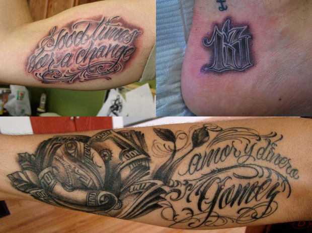 The Complex Guide To Tattoo Lettering Complex
