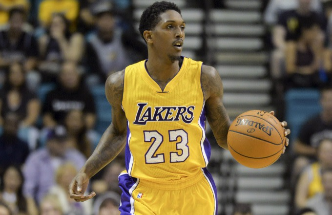 "promo code 0b363 5b514 Listen to Lakers Player Lou Williams Rap Over ""Panda"" 