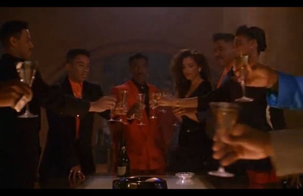 08833c1a ... club is popping off, Nino Brown and his inner circle are popping  bottles in the back room of the Spotlite. While his boys Gee Money and Duh  Duh Duh Man ...