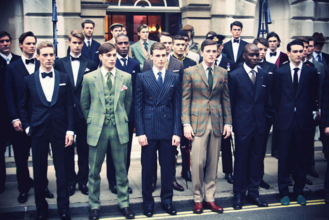 Men's Clothing Learned Moss Bros Grey Checked Suit Clothes, Shoes & Accessories