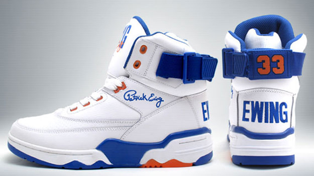 release date: a2a40 b81b6 All year long Ewing Athletics has been teasing us with images of the Ewing  33 Hi basketball sneakers. Finally, after a long wait, the brand has  announced ...