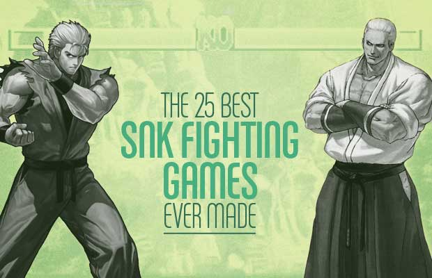 The 25 Best SNK Fighting Games Ever Made | Complex