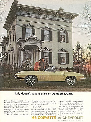 The 25 Most Iconic Chevrolet Corvette Ads | Complex