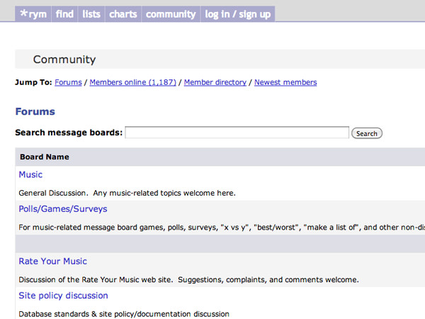 15 of the Best Music Forums on the Web   Complex