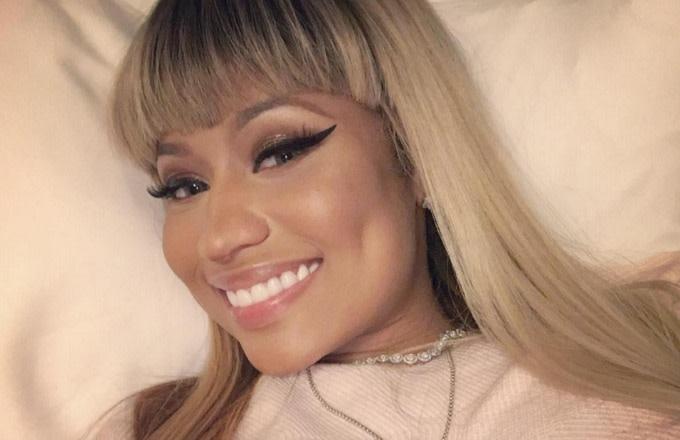Nicki Minaj Teases