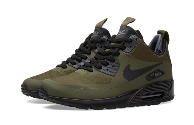 NIKE Shoes Air Max 90 Mid Wntr squadron blue black : Cheap