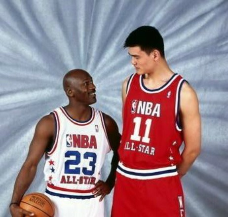 newest 51981 b354a Gallery: Yao Ming Making 34 Other Pro Athletes Look Tiny ...