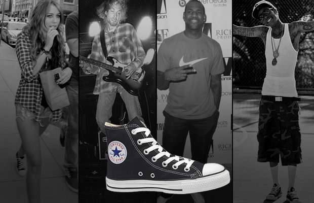 A History Of Celebrities Wearing The Converse Chuck Taylor All Star