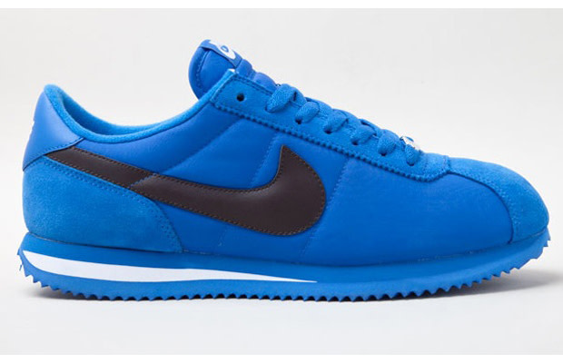 the latest 3065e d6cb7 Nike re-works one of its classics, the Cortez, in two new colorways. The  nylon, leather and suede uppers are done up in a bold royal blue colorway  and a ...