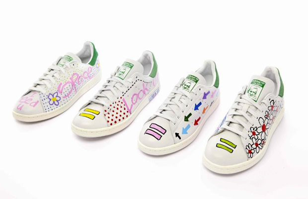 timeless design f338e 3a8d8 adidas Originals Is Releasing 10 Stan Smiths Hand-Painted by ...