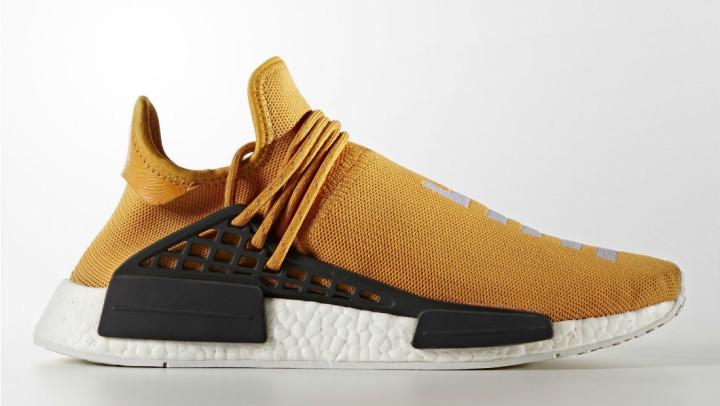 newest 08a53 7ad66 Orange Pharrell adidas NMD Human Race Tangerine   Complex
