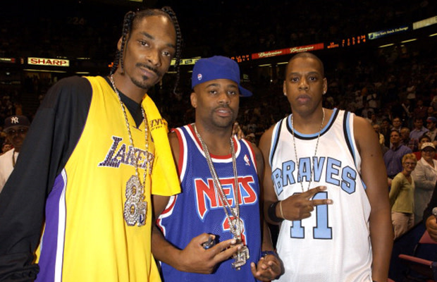 best sneakers 30a01 a6fce Gallery: Remembering Hip-Hop's NBA Throwback Jersey Trend ...