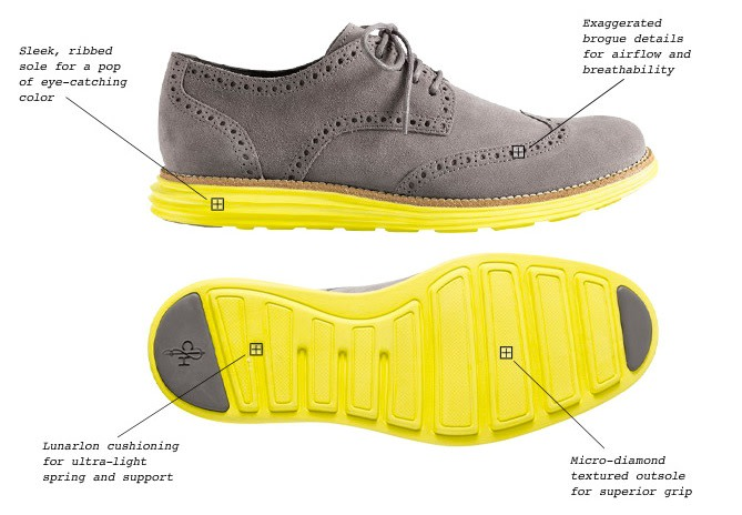 0c71f75b63f We first announced Cole Haan's revolutionary LunarGrand wingtips two issues  ago, and they dropped exclusively at Cole Haan's SoHo store in New York.
