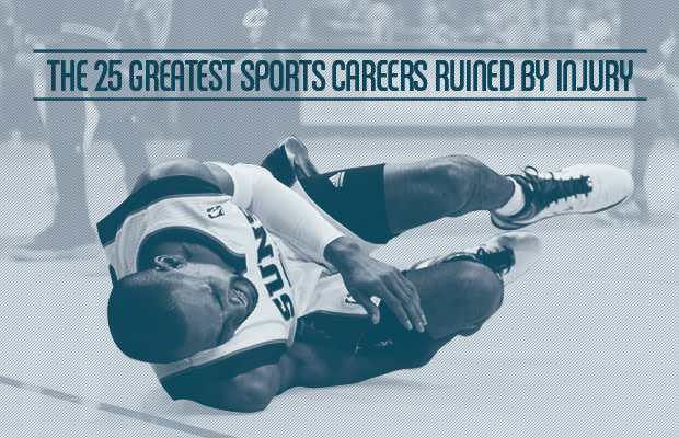 The 25 Greatest Sports Careers Ruined by Injury | Complex
