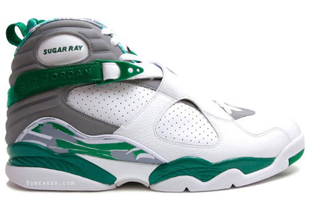 sports shoes 394a6 c7f9c Air Jordan VIII Ray Allen Boston Celtics