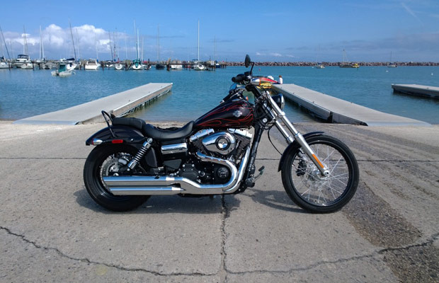 Test Drive: The Harley-Davidson Wide Glide Gives You All of the