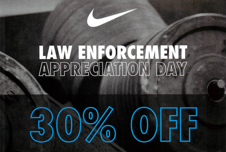 sports shoes 8d601 4dad3 Nike's Second Annual Law Enforcement Appreciation Day is ...