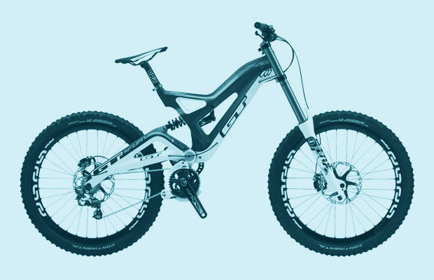 fdaa6021b6a Here is what most great downhill bikes have in common—they have roughly  eight inches of suspension travel front and rear, they look mean as hell,  ...
