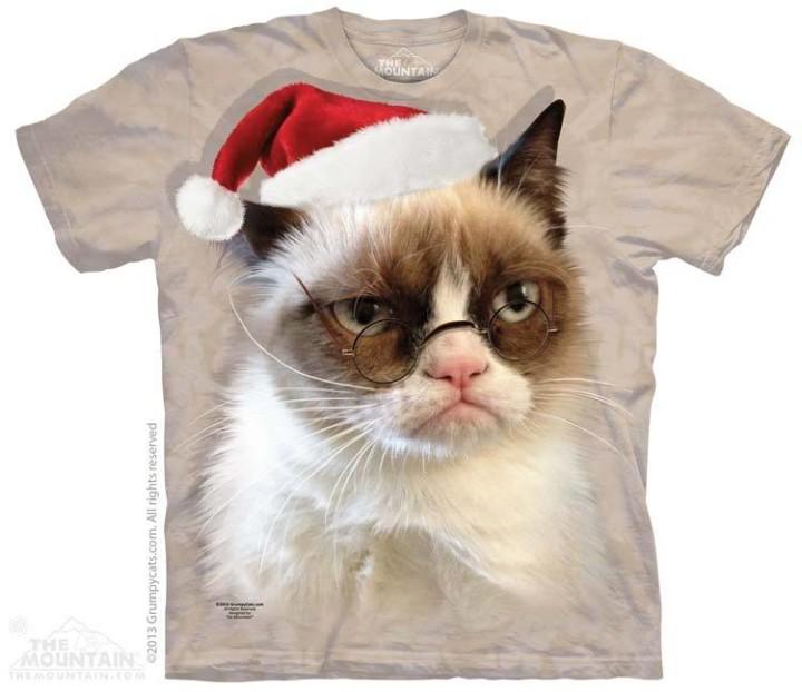 Grumpy Cat Ugly Christmas Sweater.These Rainbow Unicorn And Grumpy Cat Holiday Shirts Make
