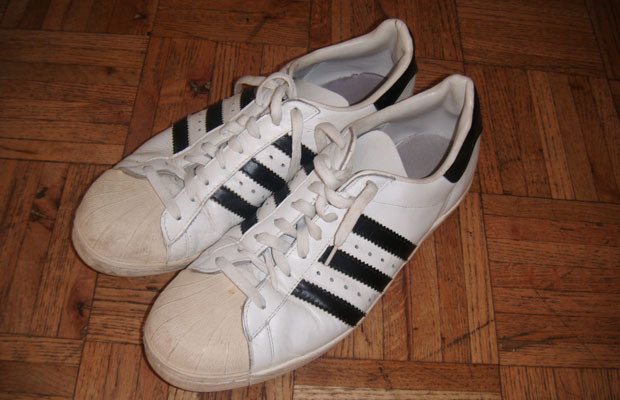 on feet at skate shoes better eBay Sneaker Auction of the Day: adidas Superstar